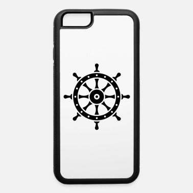 Ahoy Ship's Wheel (Seaman / Skipper / Sailor / Captain) - iPhone 6 Case