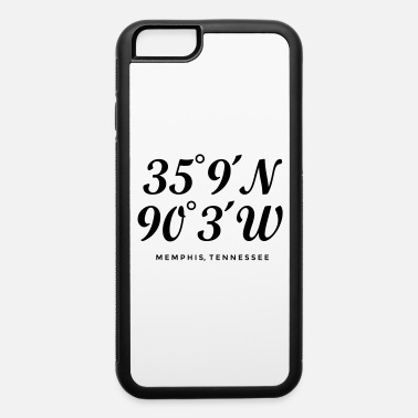 City Of Memphis Memphis, Tennessee Coordinates - iPhone 6 Case