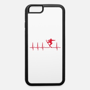 Heart Frequency Funny Love Heart Frequency Snowboard Snowboarding - iPhone 6 Case