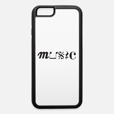 Musical Symbols MUSIC Symbols - iPhone 6 Case