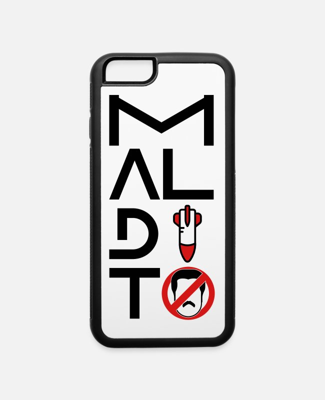 Venezuela iPhone Cases - maldito maduro - iPhone 6 Case white/black