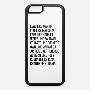 Black History Black History, Civil Rights Legends 2 - iPhone 6/6s Rubber Case