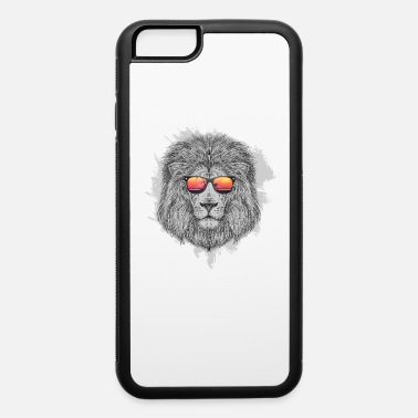 Lion Lion head with sunglasses gift idea lion king - iPhone 6 Case