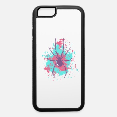 Splatter spider splatter shirt spiders gift idea insect - iPhone 6 Case