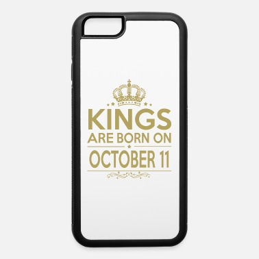 Funny Vintage Couple Cool October Kings are born on October 11 - iPhone 6 Case
