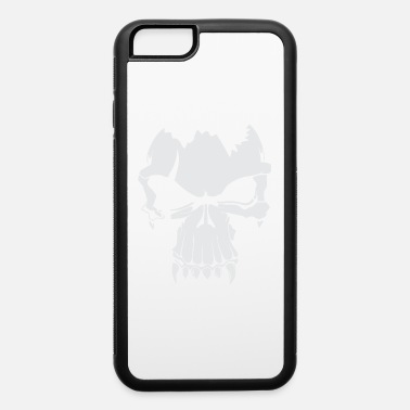 White Skull White - iPhone 6 Case