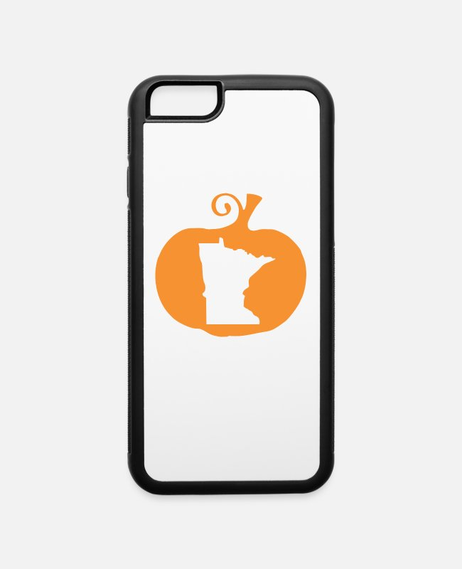 Montana iPhone Cases - State Halloween Minnesota - iPhone 6 Case white/black