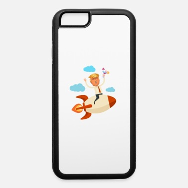 Marshall Font trump on rocket without font - iPhone 6 Case