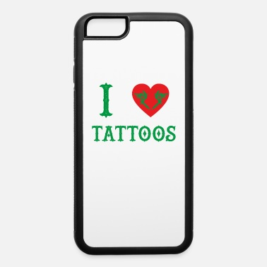 Tintling love tattoos taetowiert needle geschenk farb tinte - iPhone 6 Case