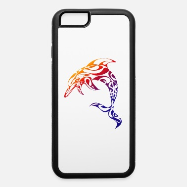 Tribal Dolphin Wildlife Tribal Native Art Ocean Nature - iPhone 6 Case