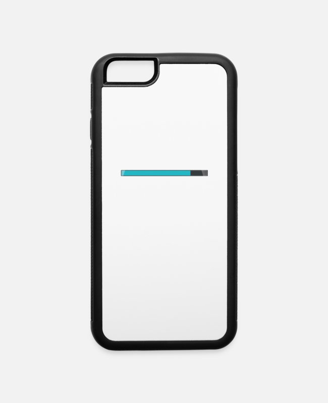 Social iPhone Cases - BUFFERING……… NET IS VERY FAST. - iPhone 6 Case white/black