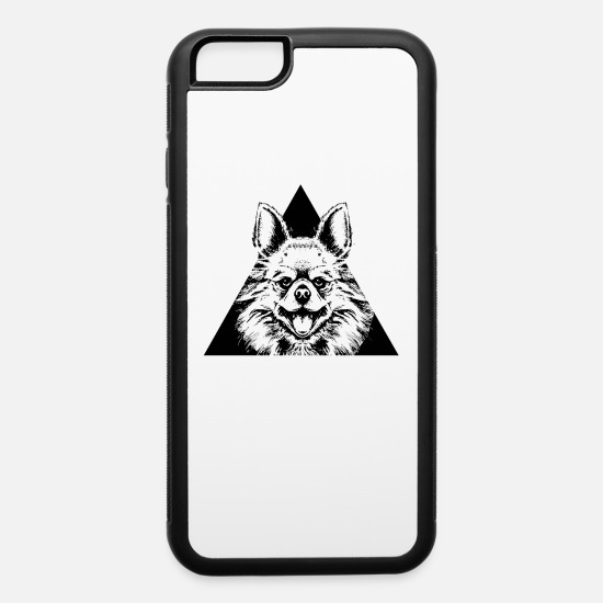 Animal iPhone Cases - AFRO ANIMAL - iPhone 6 Case white/black