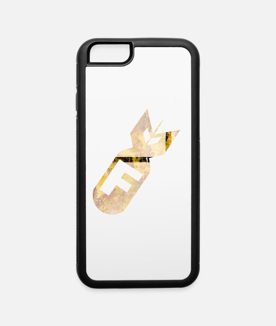 Fit iPhone Cases - f bomb - iPhone 6 Case white/black