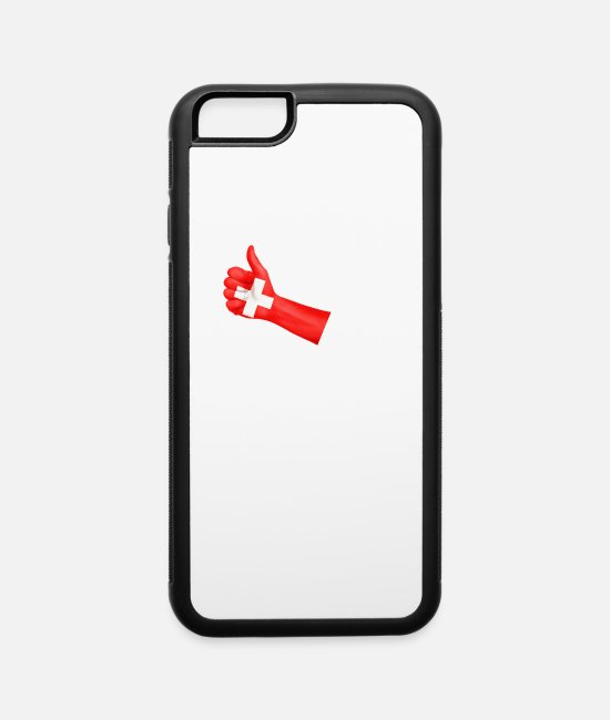 Winter iPhone Cases - Biathlon Switzerland - iPhone 6 Case white/black