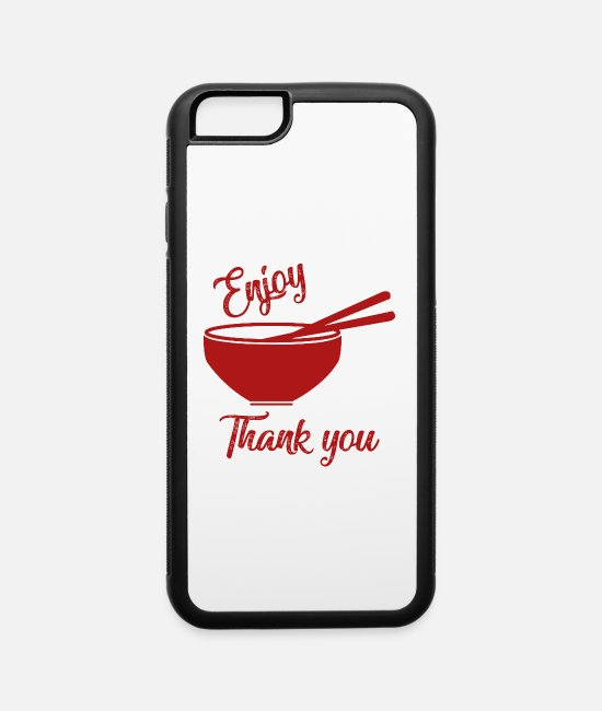 Cookie iPhone Cases - CHINESE FOOD - iPhone 6 Case white/black