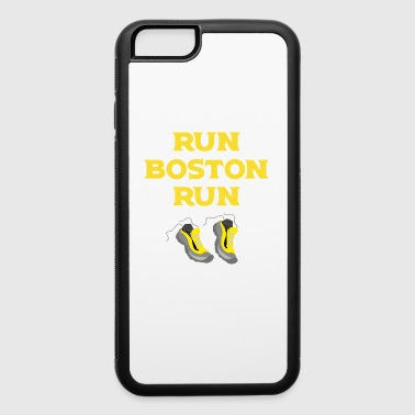 Run Boston Run Running Marathon - iPhone 6/6s Rubber Case