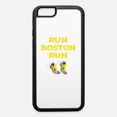 Boston Marathon Run Boston Run Running Marathon - iPhone 6/6s Rubber Case
