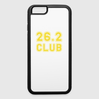 26.2 Club Boston Running Marathon - iPhone 6/6s Rubber Case