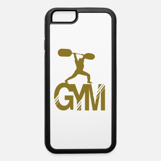Gym iPhone Cases - gym - iPhone 6 Case white/black