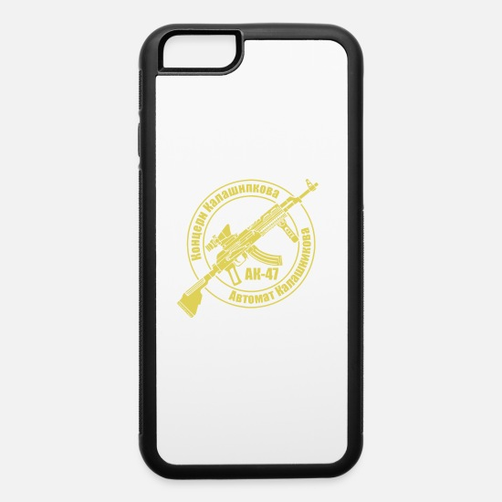 Kalashnikov iPhone Cases - AK47 series 1 Kalashnikov Modern - iPhone 6 Case white/black
