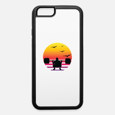 Weight Lift weight lifting retro sunset, #weight lifting - iPhone 6 Case