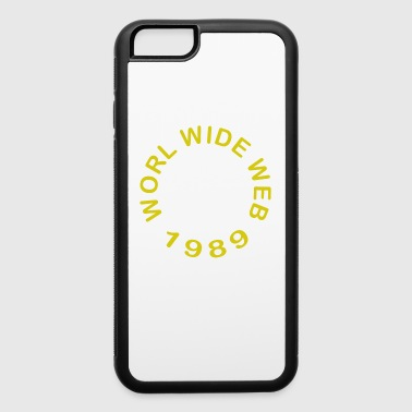 World Wide Web 1989 - iPhone 6/6s Rubber Case