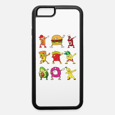 Pineapple Dabbing Dab Pizza Burger Hot Dog Donut Pineapple - iPhone 6/6s Rubber Case