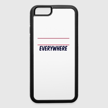 ANYWHERE EVERYWHERE - iPhone 6/6s Rubber Case
