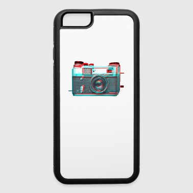 vaporwave aesthetics SLR CAMERA GLITCH retro 80s - iPhone 6/6s Rubber Case