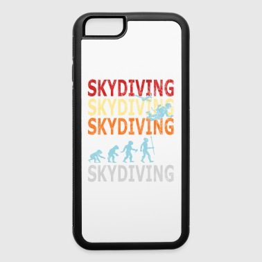 Retro Vintage Style Evolution Skydiver Skydiving - iPhone 6/6s Rubber Case