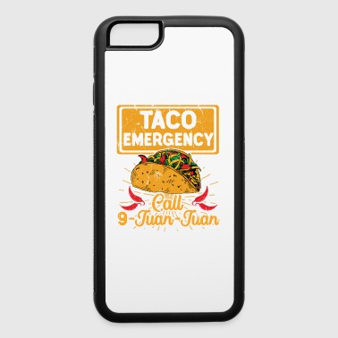 Taco Emergency Call 9 Juan Juan Cinco De Mayo - iPhone 6/6s Rubber Case