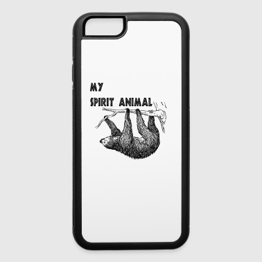 Spirit Animal Sloth - iPhone 6/6s Rubber Case