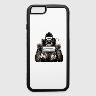 mexican gorilla prison t-shirt - iPhone 6/6s Rubber Case