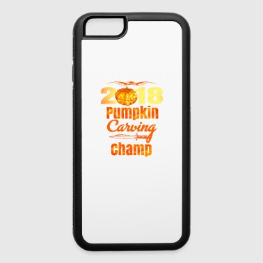 Halloween Pumpkin Carving Champ 2018 Cool Jack O Lantern - iPhone 6/6s Rubber Case