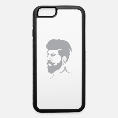 Undercut Beard Bearded Hipster Earpods Airpods Hairstyle - iPhone 6 Case