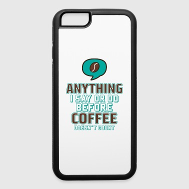 Coffee - iPhone 6/6s Rubber Case