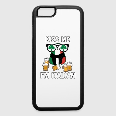 Kiss Me I'm Italian St Patrick's Day TShirt O'talian Shirt - iPhone 6/6s Rubber Case
