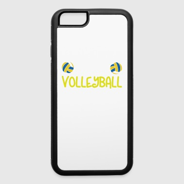 I'd Rather Be Playing Volleyball - iPhone 6/6s Rubber Case