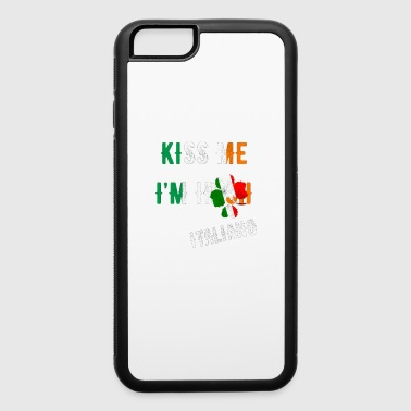 Kiss Me I'm Italian St Patrick's Day Irish Italy - iPhone 6/6s Rubber Case