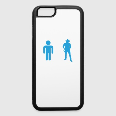Western Riding Your Uncle My Uncle Cowboy - iPhone 6/6s Rubber Case