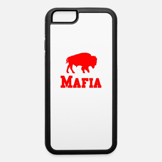 Mafia iPhone Cases - Bills Mafia Shirt - Buffalo Football Shirt - iPhone 6 Case white/black