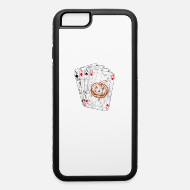 Pik Halloween Cards Pumpkin Poker Shirt - iPhone 6/6s Rubber Case