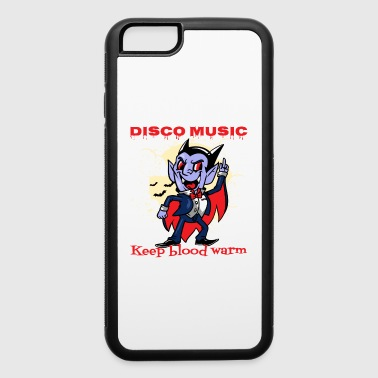 Cupcake Dancing Vampire - Celebrate Halloween - iPhone 6/6s Rubber Case