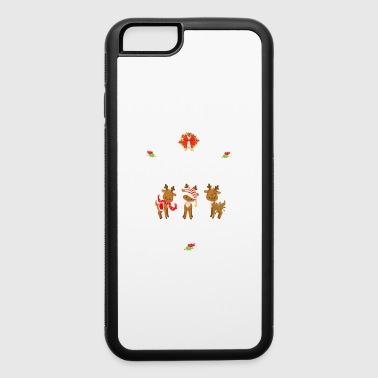 Phone Christmas Teacher Gift I Teach Christmas Cuties All Year Long Reindeer - iPhone 6/6s Rubber Case