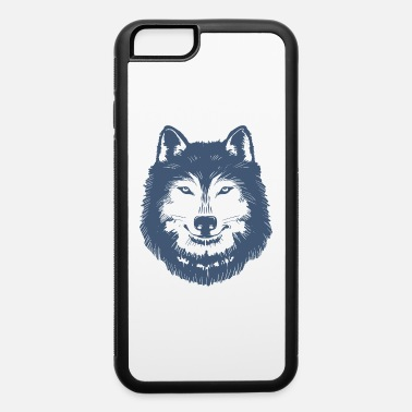 Jacob White the Big Bad wolf Head - bad wolf face - iPhone 6 Case