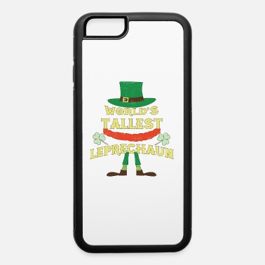 Pint World's Tallest Leprechaun - St Patrick's Day - iPhone 6/6s Rubber Case