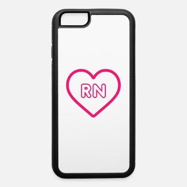 Best Friends RN Nurse Quote, Gift - iPhone 6/6s Rubber Case