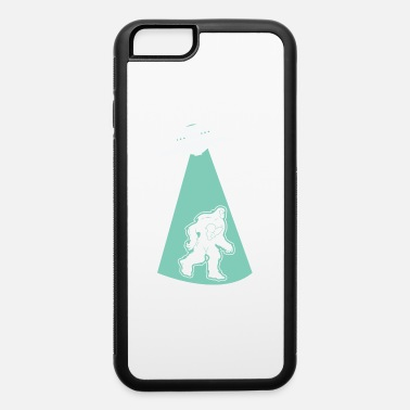 Hijacker UFO Alien Flying Saucer Abduction Hijacking Yeti - iPhone 6 Case