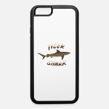 Aggressive Tiger Shark Dangerous Fish Aggressive White Gift - iPhone 6/6s Rubber Case