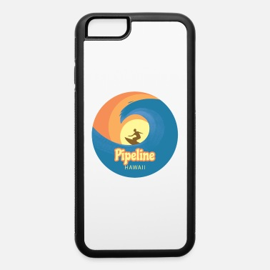 Windsurfing Pipeline Hawaii surfing tshirt - iPhone 6/6s Rubber Case